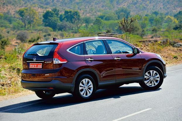 The CR-V uses smart design to look bigger than before